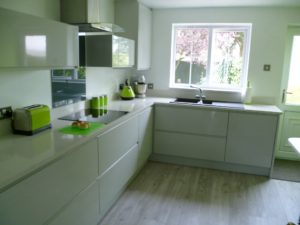 Modern Kitchen - Blaby Leicestershire 1